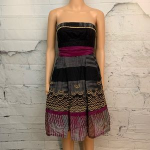 Anthropologie Floreat 100 Summits Dress